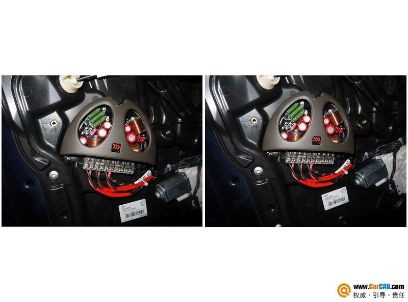 【佛山酷车旋律】途锐音响改装摩雷薏蕾旗舰版603 - 香港佳能仕公司 - 汽车音响