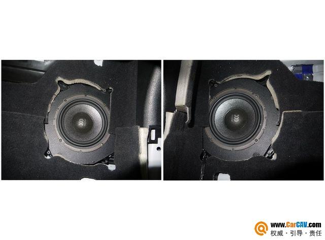 【佛山酷车旋律】宝马5系音响改装摩雷优特声603 - 香港佳能仕公司 - 汽车音响