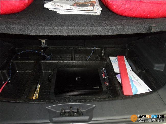 贵阳元音长安CS35汽车音响改装摩雷音质出色高清图片
