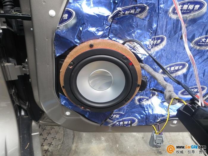 成都锐驰沃尔沃XC60汽车音响改装彩虹彰显非凡音质图片