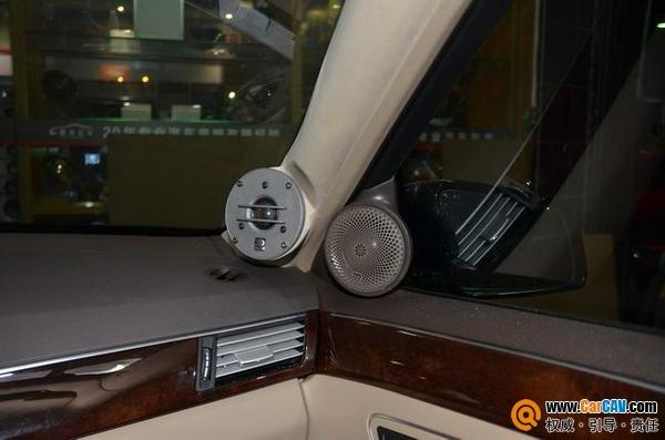 【东莞车乐汇】摩雷至尊三分频改装奔驰E300汽车音响 - 香港佳能仕公司 - 汽车音响