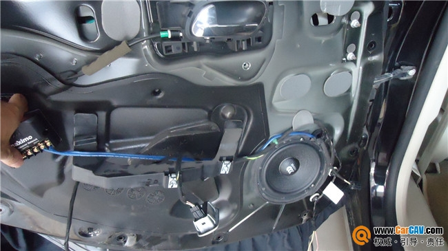 【武汉乐途】汽车音响标志508换装摩雷玛仕舞系列 - 香港佳能仕公司 - 汽车音响