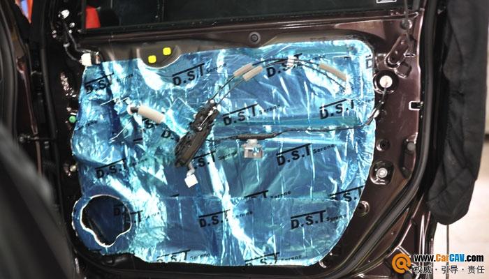 【重庆三正】13款本田CR-V音响改装,聆听美的声音 - 香港佳能仕公司 - 汽车音响