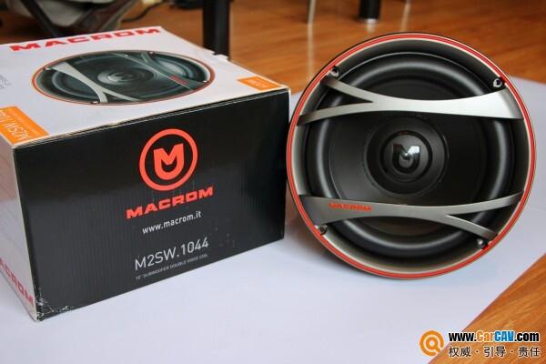 汽车音响之曼琴M2SW.1044双音圈超低音单元
