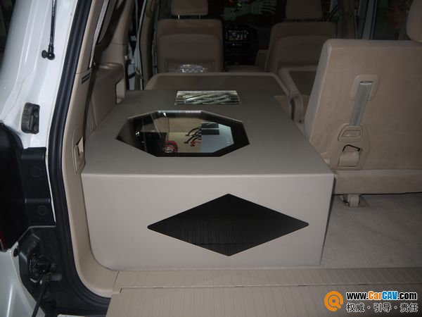 【佛山酷车旋律】兰德酷路泽音响改装摩雷优特声603MOSCONI - 香港佳能仕公司 - 汽车音响