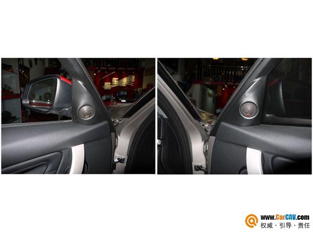【佛山酷车旋律】宝马3系音响改装摩雷优特声603 - 香港佳能仕公司 - 汽车音响