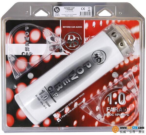 瑞典德利仕DLS 1 Farad 20 V 电容
