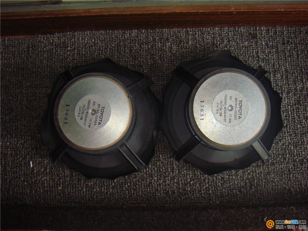【开平桥升】丰田花冠升级以色列玛仕舞套装喇叭 - 香港佳能仕公司 - 汽车音响
