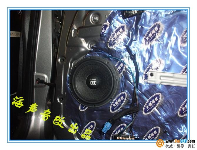 【长沙海声】K3前后门升级摩雷喇叭 - 香港佳能仕公司 - 汽车音响