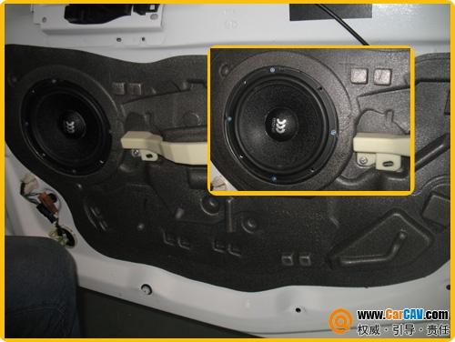 【珠海惠声】东风标致308改装摩雷汽车音响玛仕舞 - 香港佳能仕公司 - 汽车音响