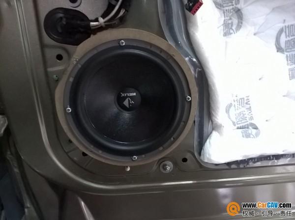 广州战神福特翼虎汽车音响改装威戈 音乐随我行高清图片