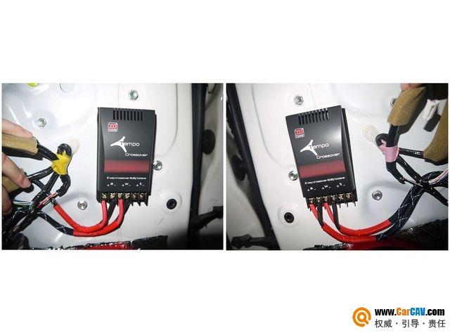【佛山酷车旋律】霸道音响改装摩雷薏雷MOSCONI功放A柱倒模 - 香港佳能仕公司 - 汽车音响