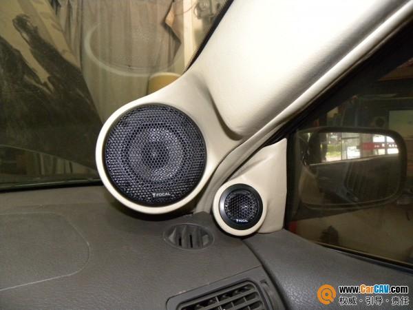 缔造完美 广州战神比亚迪f3汽车音响改装劲浪高清图片