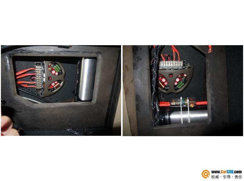 【佛山酷车旋律】奥迪A6L音响改装摩雷薏蕾603 - 香港佳能仕公司 - 汽车音响