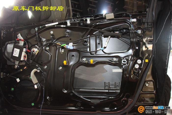 东莞虎门道声丰田皇冠汽车音响改装ATI 拥有王者风范高清图片