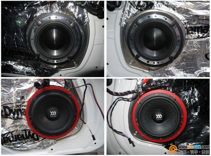 【佛山酷车旋律】奔驰E260L音响改装摩雷薏雷602 - 香港佳能仕公司 - 汽车音响