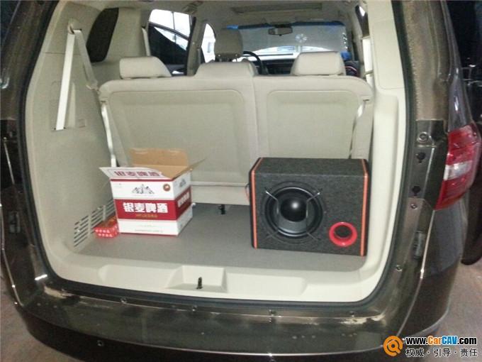 江苏淮安非常城市音响改装旗舰店 别克GL8汽车音响改装美国JBL汽车高清图片