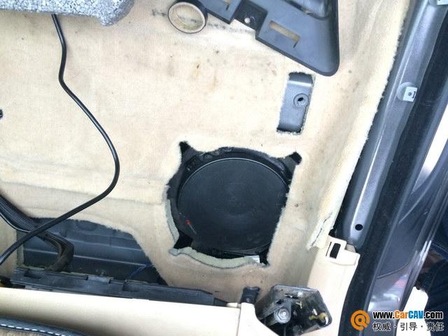 【郑州丽之声】宝马530Li改装摩雷优特声603三分频喇叭 - 香港佳能仕公司 - 汽车音响