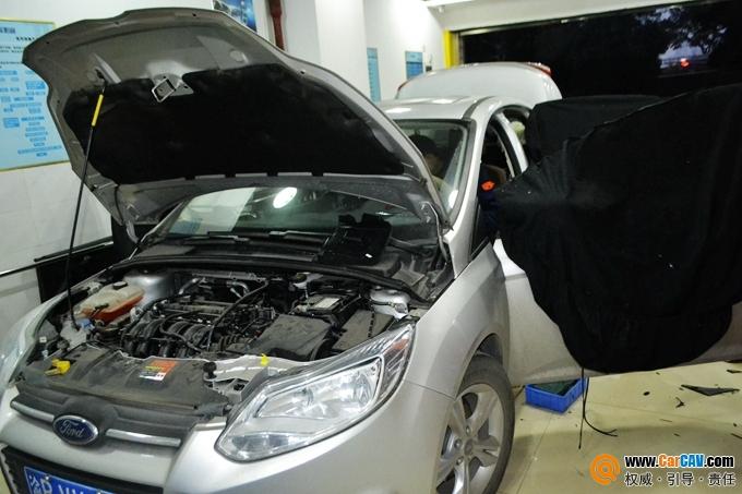 重庆天龙福特福克斯汽车音响改装赫兹 让生活更内涵高清图片
