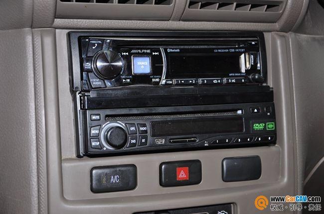 主机安装效果   细节接线布线   音响升级意大利tec和美国霸高清图片