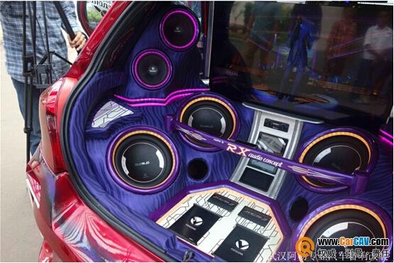 奇瑞瑞虎专业音响专业改装隔音降噪高清图片