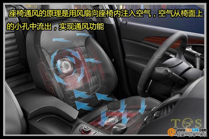 重庆路虎发现4改通风座椅 重庆哪里有改汽车通风座椅系统的高清图片