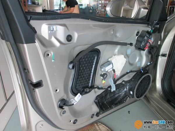 青岛成功音响奥迪A6L汽车音响改装劲浪 完美的声音高清图片