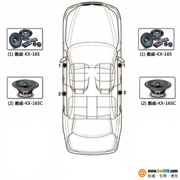长安CS35改装KX 165限时活动套餐 汽车影音网论坛 汽车音响改装升高清图片