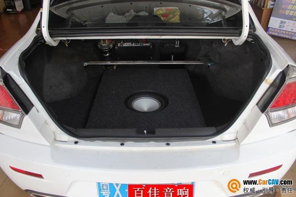 顺德百佳东南汽车V3菱悦汽车音响改装 经典倒模展示高清图片