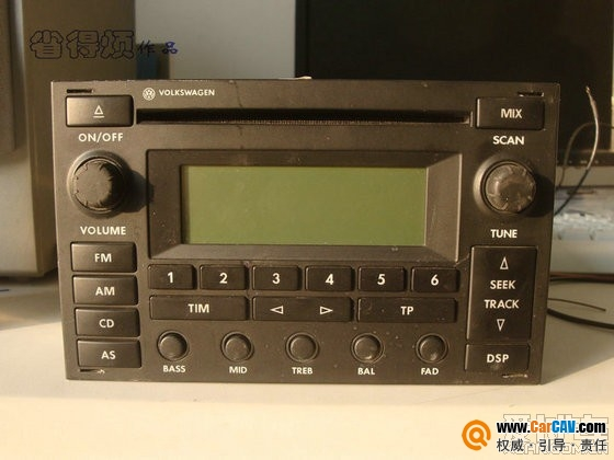 找个老帕萨特cd机,按键能弹出来的高清图片