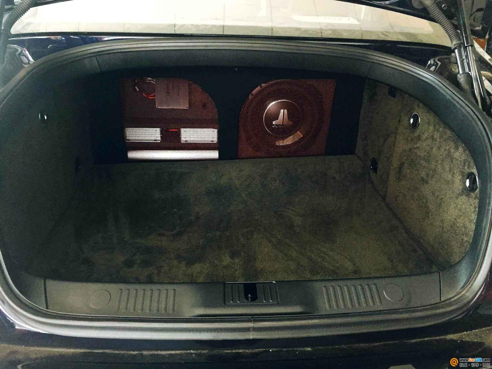佛山途歌宾利飞驰汽车音响改装劲浪 理智的 疯狂 选择高清图片