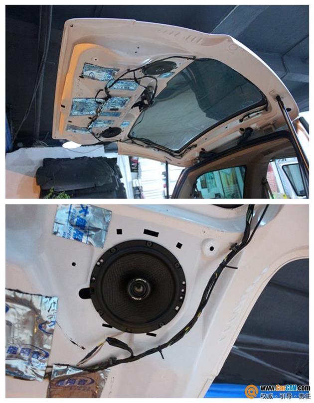 长春扬帆汽车音响改装别克GL8,独特的音乐品味独特的音响改装高清图片