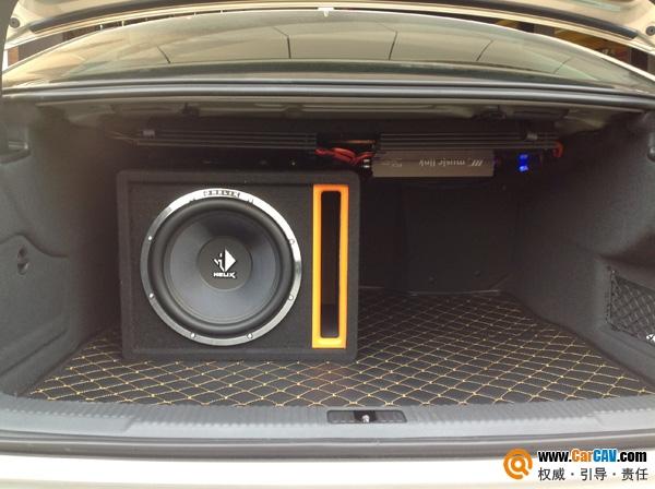 武汉音乐之声奥迪A6汽车音响改装喜力士 追崇和敬意高清图片