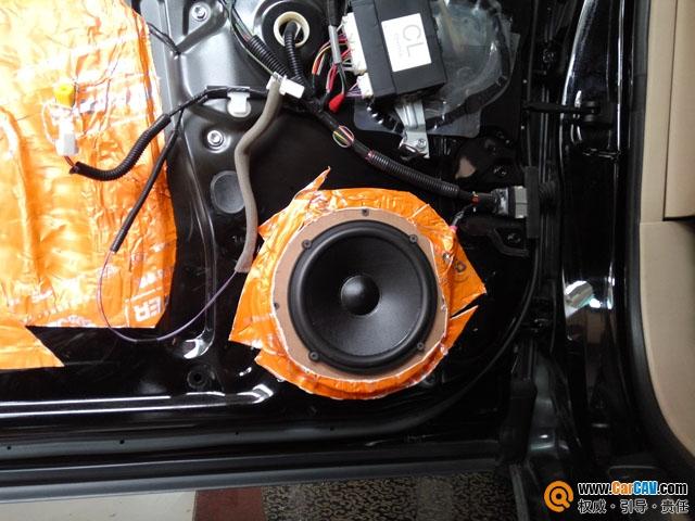 州博韵丰田皇冠汽车音响改装燕飞利仕 来一场音乐之旅高清图片