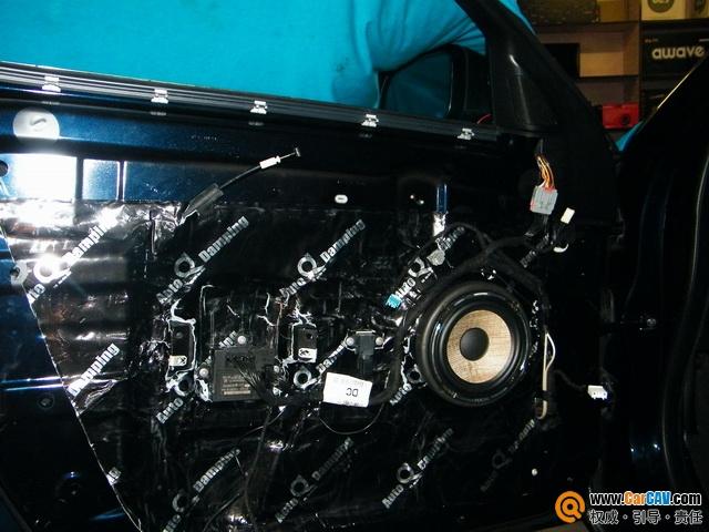 让舒适更完美 佛山曼波捷豹XF汽车音响改装雷贝琴