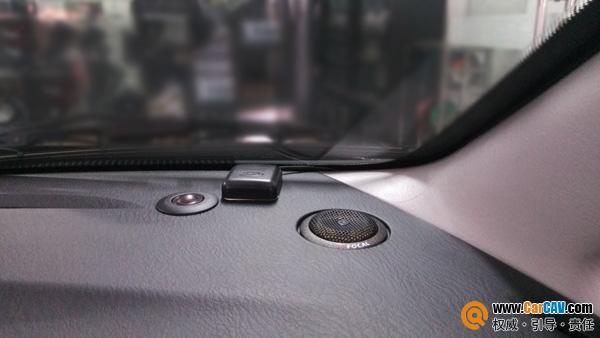 广州先歌海马普力马汽车音响改装劲浪 音响世界大不同高清图片