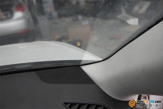 用心灵去感受 广州先歌奥迪A4L汽车音响改装海螺高清图片