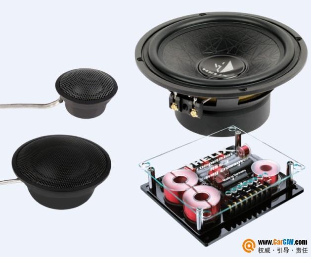 德国Helix喜力士C63C汽车音响6.5寸三路套装喇叭