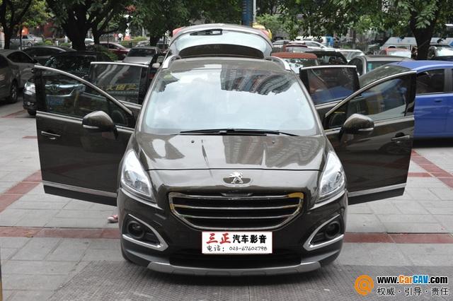 再逢新音 重庆三正标致3008汽车音响改装丹拿高清图片