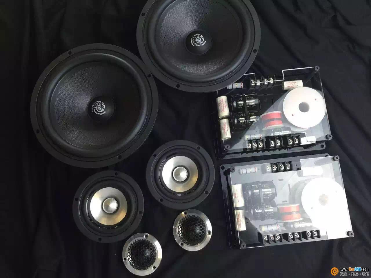 广州先歌捷豹XF汽车音响改装海螺 天籁之音