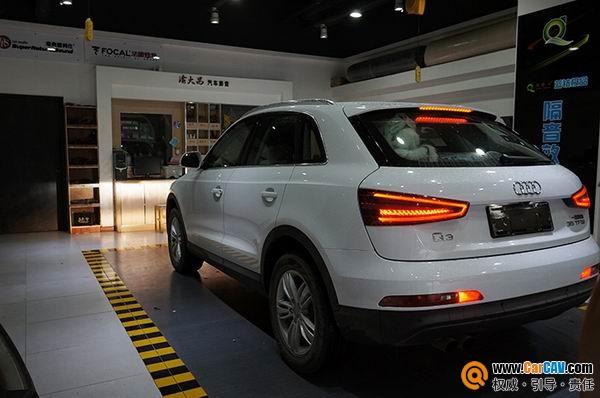 重庆渝大昌奥迪Q3汽车音响改装零点 时尚的象征高清图片