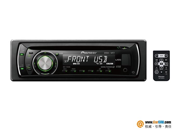 日本Pionner先锋DEH-2150UB车载USB/MP3/WMA/WAV/CD主机