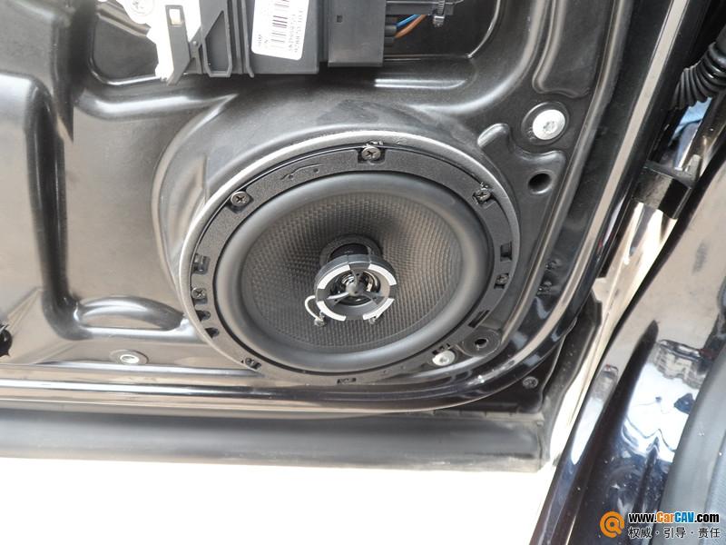 昆明魔音车坊专业汽车音响改装 大众途观改装卡玛1763喇叭汽车音响 高清图片