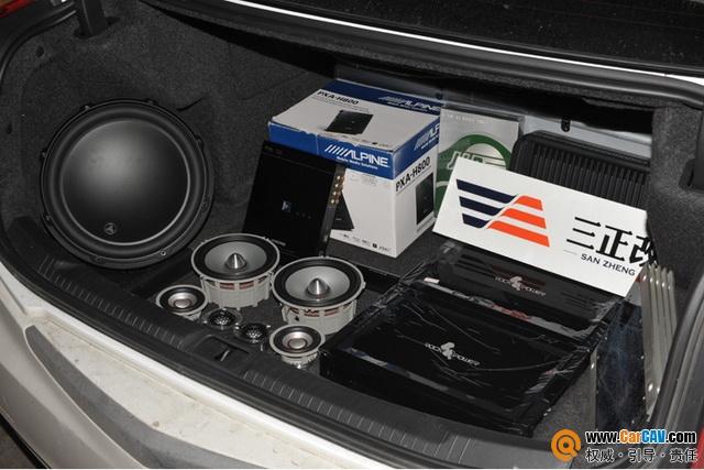 重庆三正凯迪拉克CTS汽车音响改装洛克力量 越听越上瘾高清图片