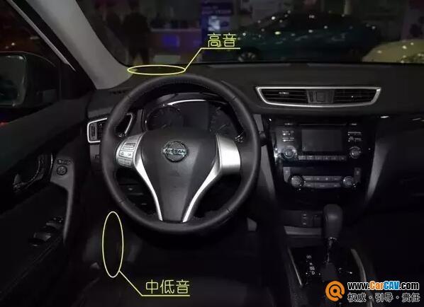 汽车原装音响喇叭安装位置与后装安装有何区别?