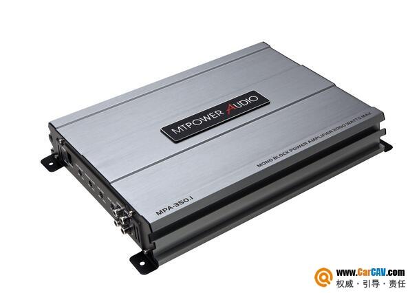 美国MTPower Audio力量之声MPA-350.1车载单声道功率放大器