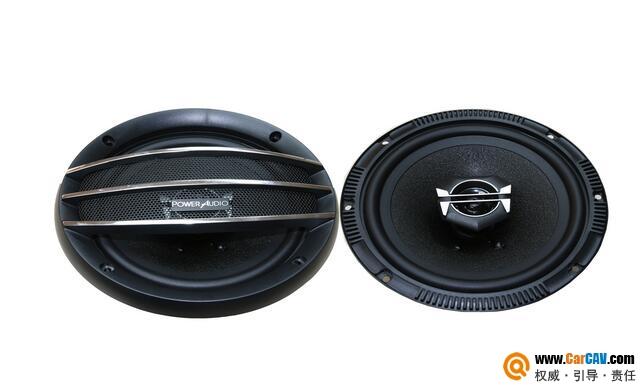 美国MTPower Audio力量之声PA622车载6.5寸二音路同轴喇叭