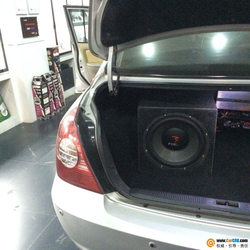 新塘城市猎人现代伊兰特汽车音响改装Focal 旅途不再寂寞高清图片