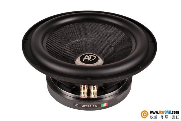 意大利AD F12车载12寸双音圈超低音喇叭
