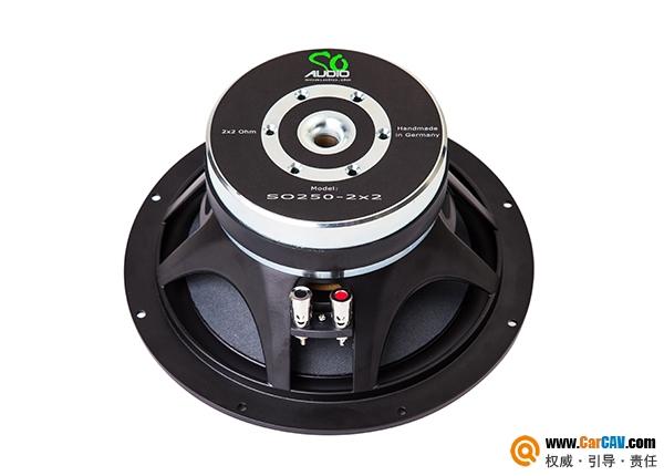 德国SO Audio诗韵SO250-2x2车载超低音喇叭
